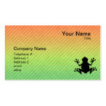 Frog Business Card Templates
