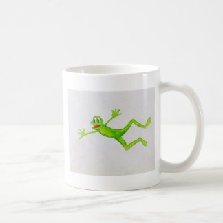 Frog by Christina Quinlivan Classic White Coffee Mug