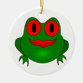 Frog Ceramic Ornament