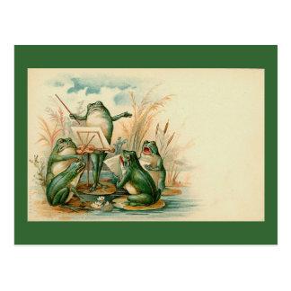 """Frog Chorus"" Postcard"