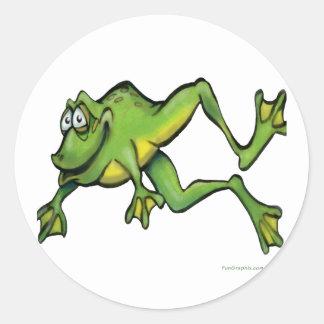 Frog Classic Round Sticker