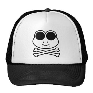Frog Cross Bone Trucker Hat