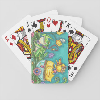 FROG & DUCK PRINCE EASTER PLAYING CARDS Poker