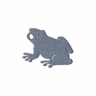 Frog embroidered design
