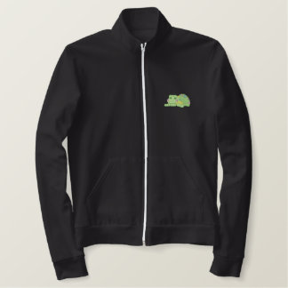 Frog Embroidered Jacket