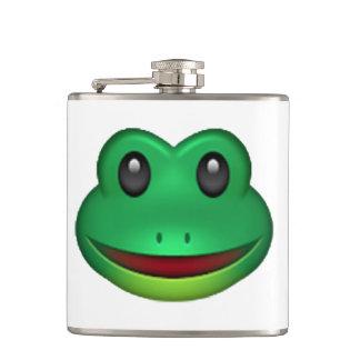 Frog - Emoji Hip Flask