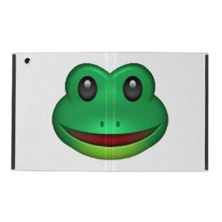 Frog - Emoji iPad Cover