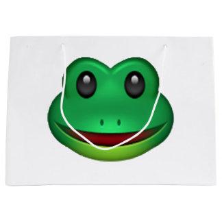 Frog - Emoji Large Gift Bag
