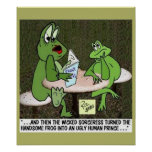 Frog Fairy Tale Poster