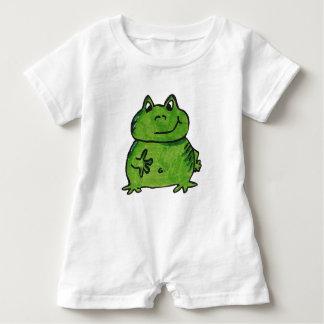 Frog Frog Baby Romper