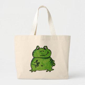 Frog Frog Large Tote Bag