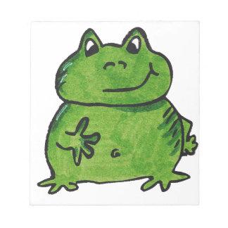 Frog Frog Notepad