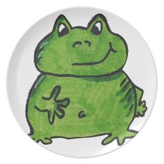 Frog Frog Plate