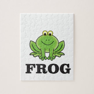 frog frogger jigsaw puzzle