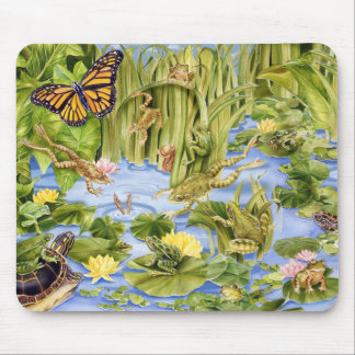 Frog Frolic Mouse Pad