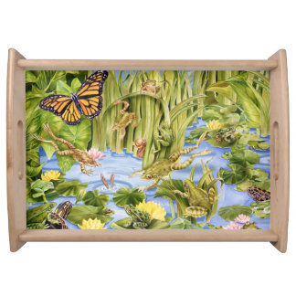 Frog Frolic Serving Tray