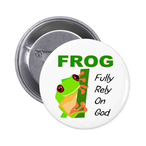 how to make frog buttons