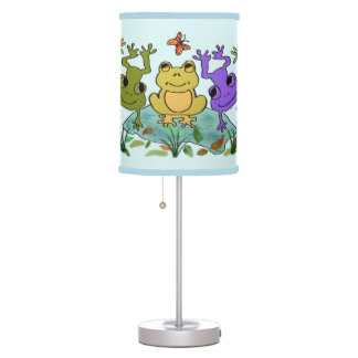 Frog Happy Desk Lamp