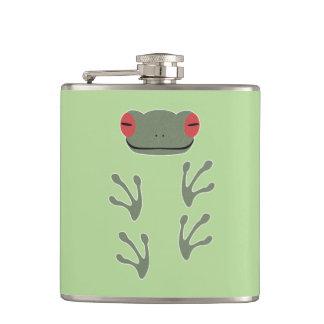 Frog Hip Flask