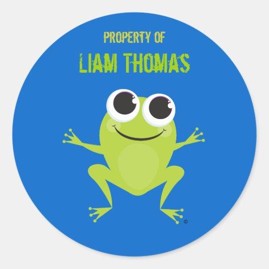 Frog Identification Sticker