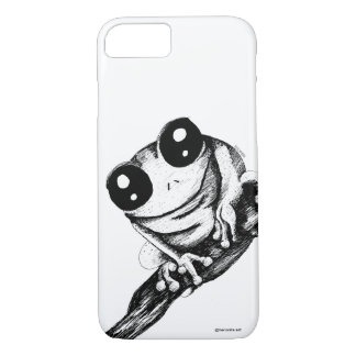 Frog in a branch iPhone 8/7 case