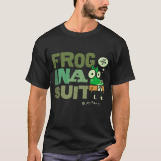 Frog in a Suit Basic Dark T-Shirt