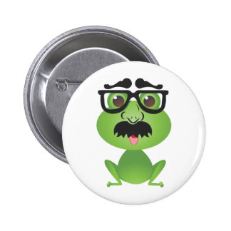 Frog in Disguise 2 Inch Round Button