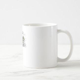 Frog in seed coffee mug