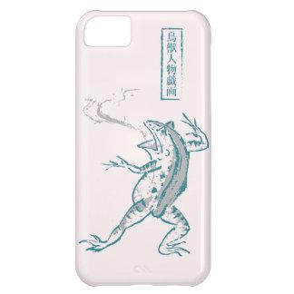 Frog in the Choju-jinbutsu-giga SAKURA color iPhone 5C Cases