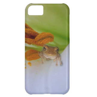 Frog in the Lily Phone Case
