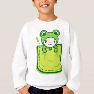 Frog_in_the_Pocket Sweatshirt