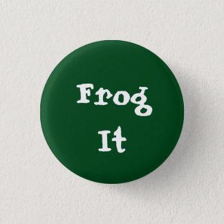 Frog It 1 Inch Round Button