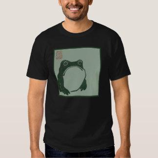 Frog japanese print t shirt