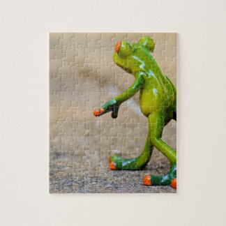 Frog journey jigsaw puzzle