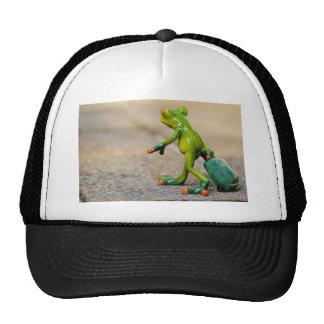 Frog journey trucker hat