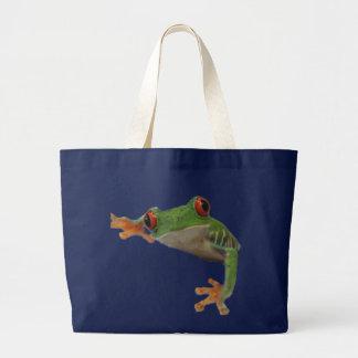 Frog Jumbo Tote Bag