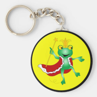 Frog King Keychain
