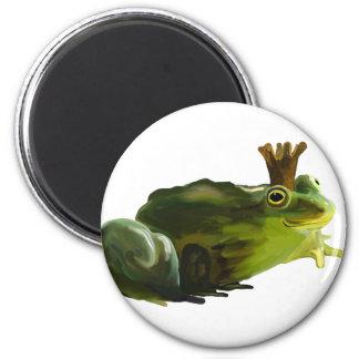 Frog king magnet