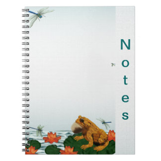 Frog Leap Notebook
