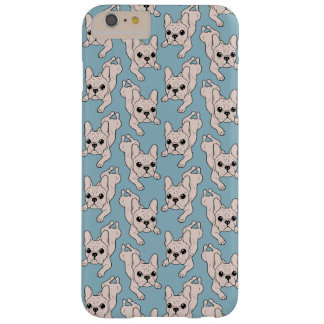 Frog Leg Cream French Bulldog Barely There iPhone 6 Plus Case