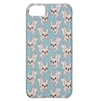 Frog Leg Cream French Bulldog Case For iPhone 5C