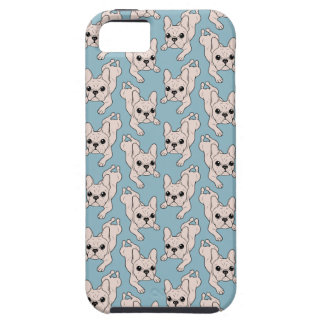 Frog Leg Cream French Bulldog Case For The iPhone 5