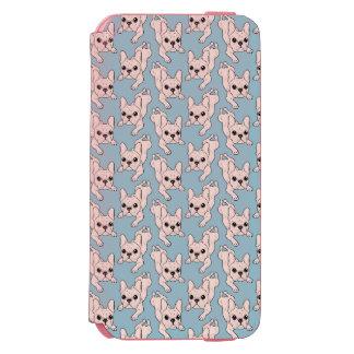 Frog Leg Cream French Bulldog Incipio Watson™ iPhone 6 Wallet Case