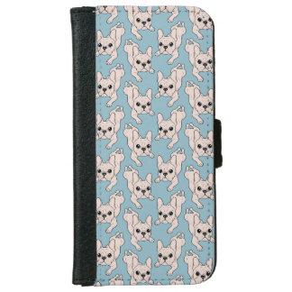 Frog Leg Cream French Bulldog iPhone 6 Wallet Case