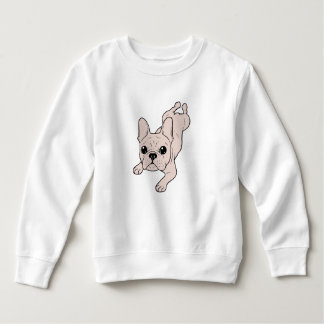 Frog Leg Cream French Bulldog Sweatshirt