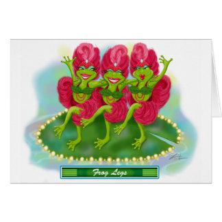 Frog Legs Card