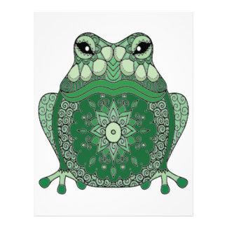 Frog Letterhead