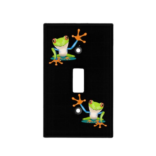 Frog Light Switch Cover
