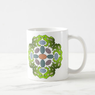 Frog Mandala Coffee Mug