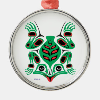 Frog Metal Ornament